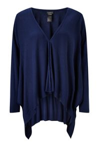 James Lakeland Side Drape Cardigan