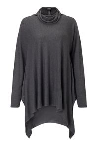 James Lakeland Side Drape Polo Neck