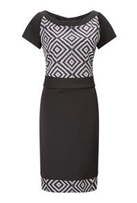 James Lakeland Printed Short Sleeve Dress