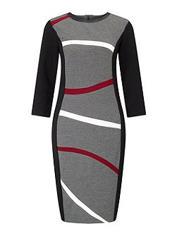 Wavey Stripe Dress