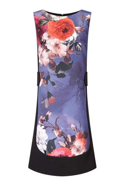 James Lakeland Front Print Sleeveless Dress