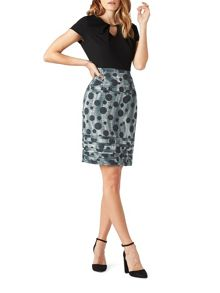 James Lakeland Dots Print Skirt Dress