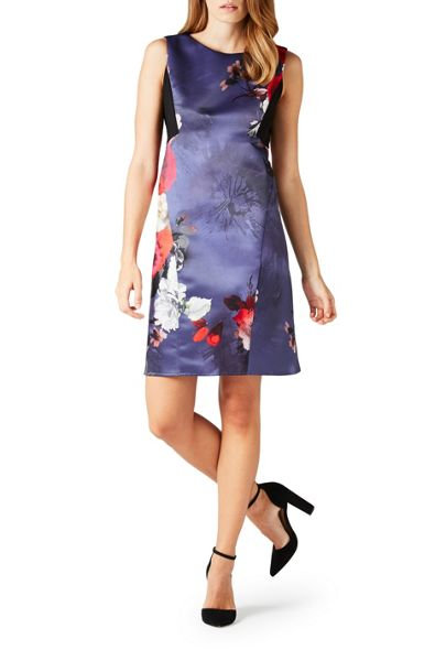 James Lakeland Floral Print Sleeveless Dress