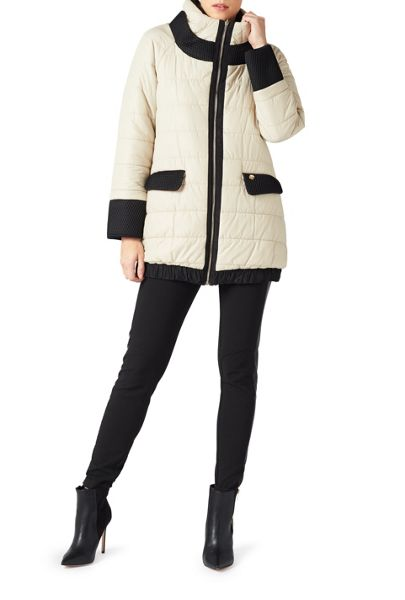 James Lakeland Reversible Puffer Coat