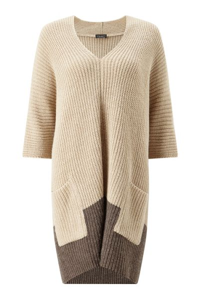 James Lakeland Bicolour Poncho
