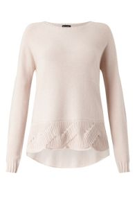 James Lakeland Knit Jumper With Twist Hem