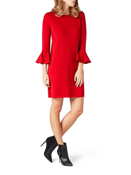 James Lakeland Tulip Sleeve Knitwear Dress