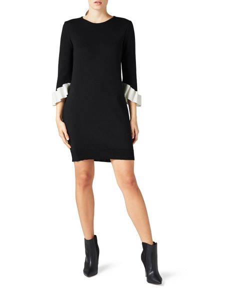 James Lakeland Dress With Frill Sleeves