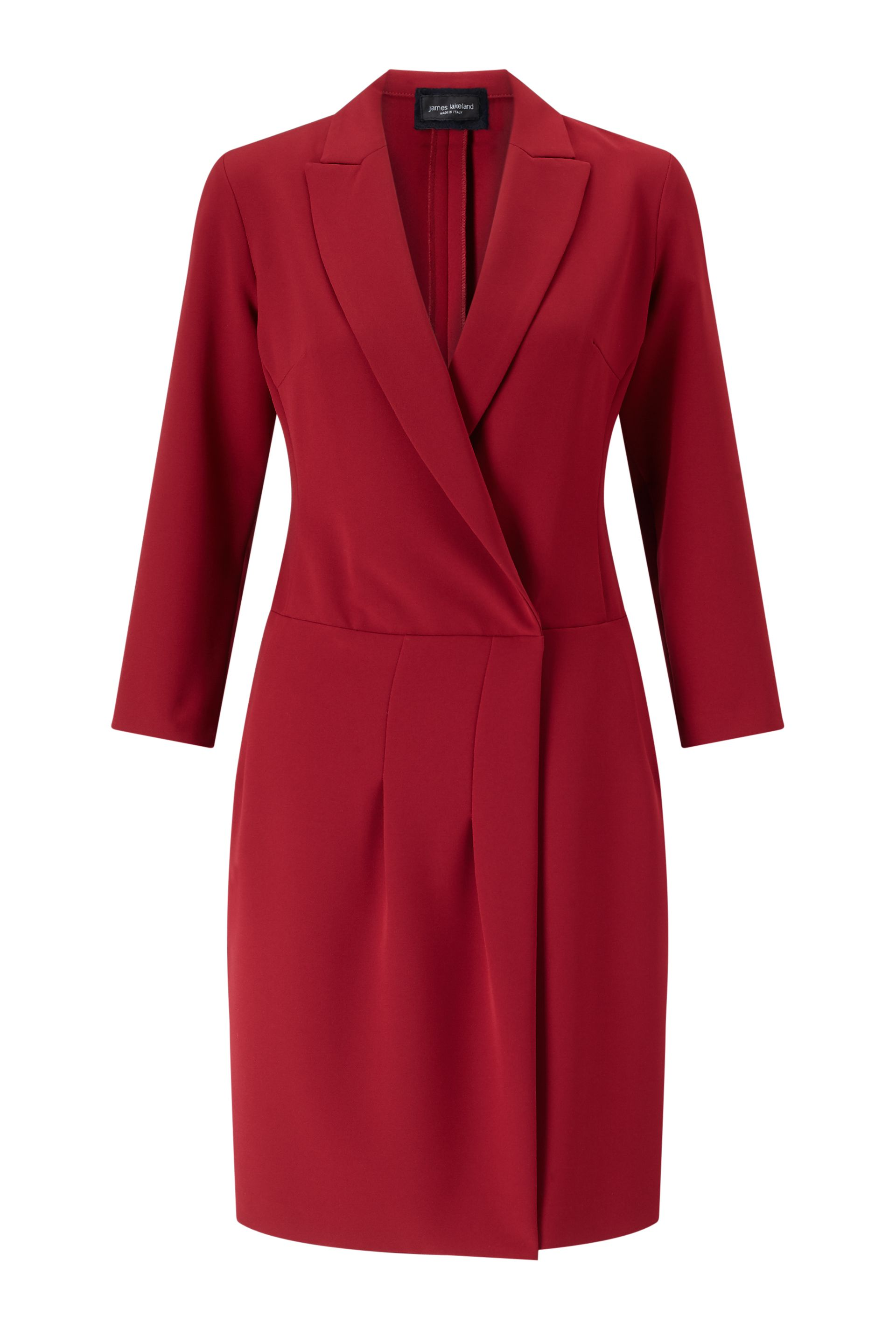 James Lakeland Crossover Dress, Red