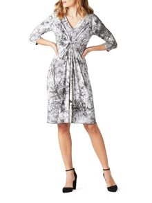 James Lakeland Knot Print Dress