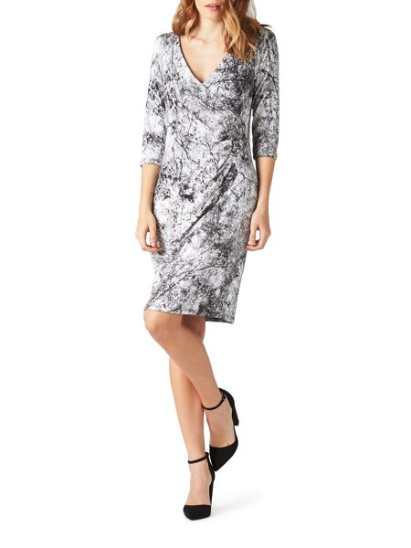 James Lakeland 1/2 Moon Print Dress
