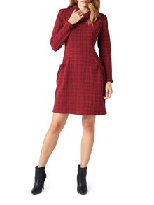 James Lakeland Cowl Neck Tunic Dress