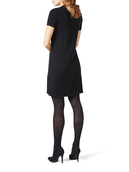 James Lakeland Pleat Hem Knit Dress