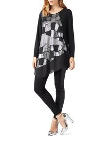 James Lakeland Sequin Cut Tunic