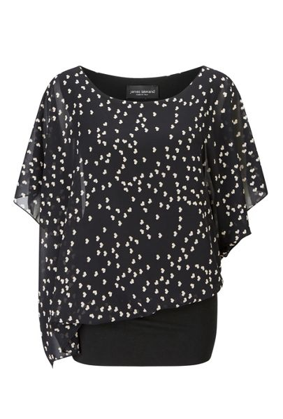 James Lakeland Wide Heart Top
