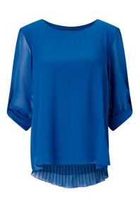 James Lakeland Pleated Back Shirt