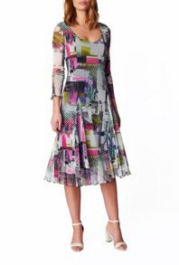 James Lakeland Printed Fit And Flare Dress