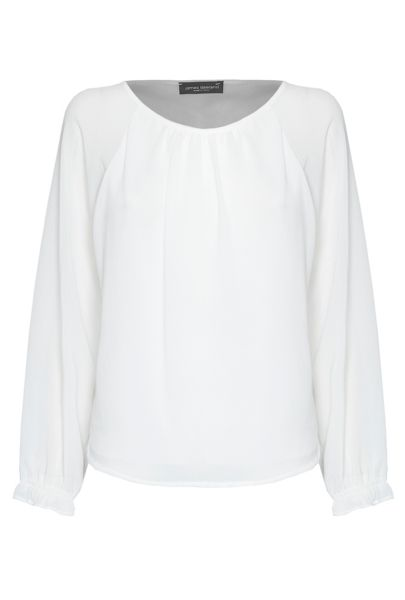 James Lakeland Ruched Cuff Blouse