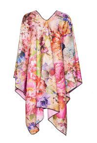 James Lakeland Reversible Floral Print Shawl