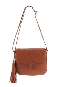 James Lakeland Leather Crossbody With Buckle