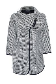 James Lakeland Jacquard Side Zip Jacket