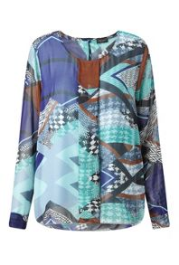 James Lakeland Front Pleat Shirt