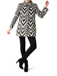 James Lakeland Striped Coat