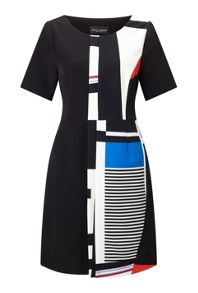 James Lakeland Geo Print Dress