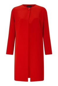 James Lakeland One Button Crepe Coat