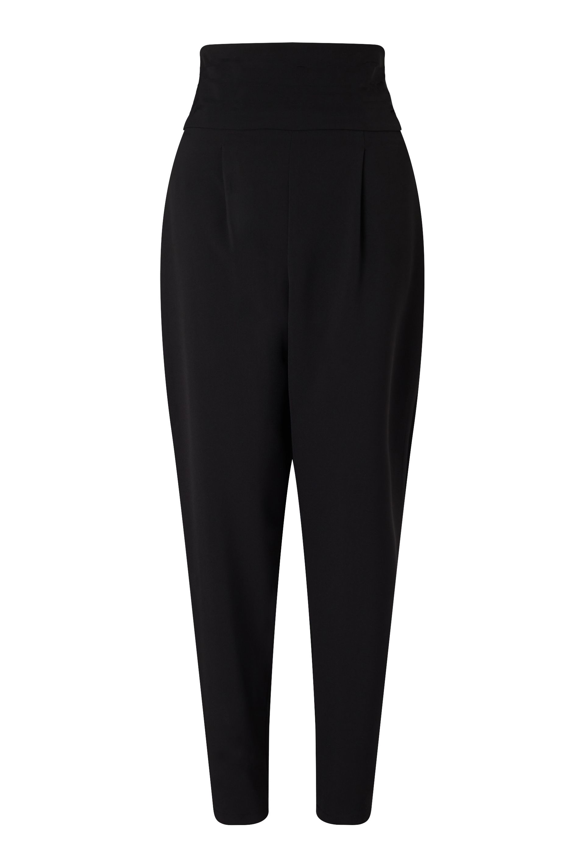 James Lakeland High Waisted Trousers, Black
