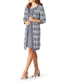 James Lakeland Print Long Jacket