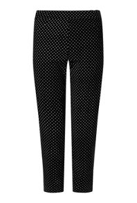 James Lakeland Cropped Patterened Trousers