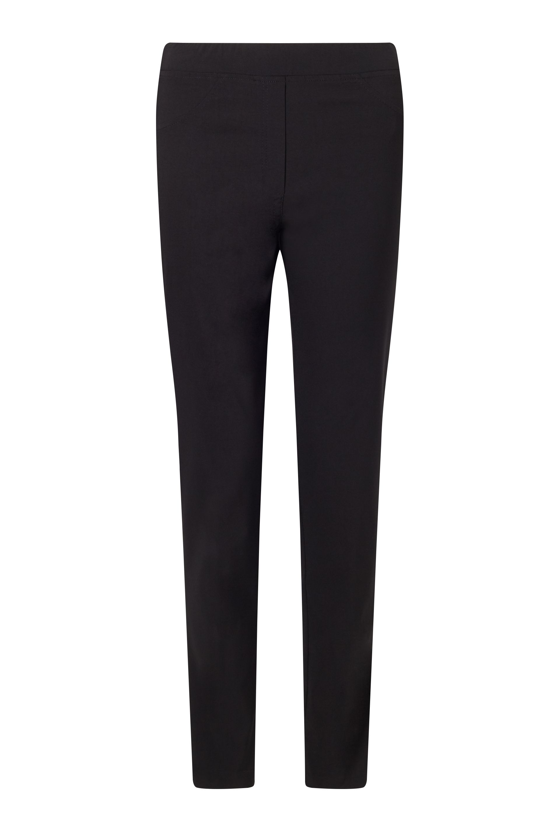 James Lakeland Long Length Bengalina Trouser, Black