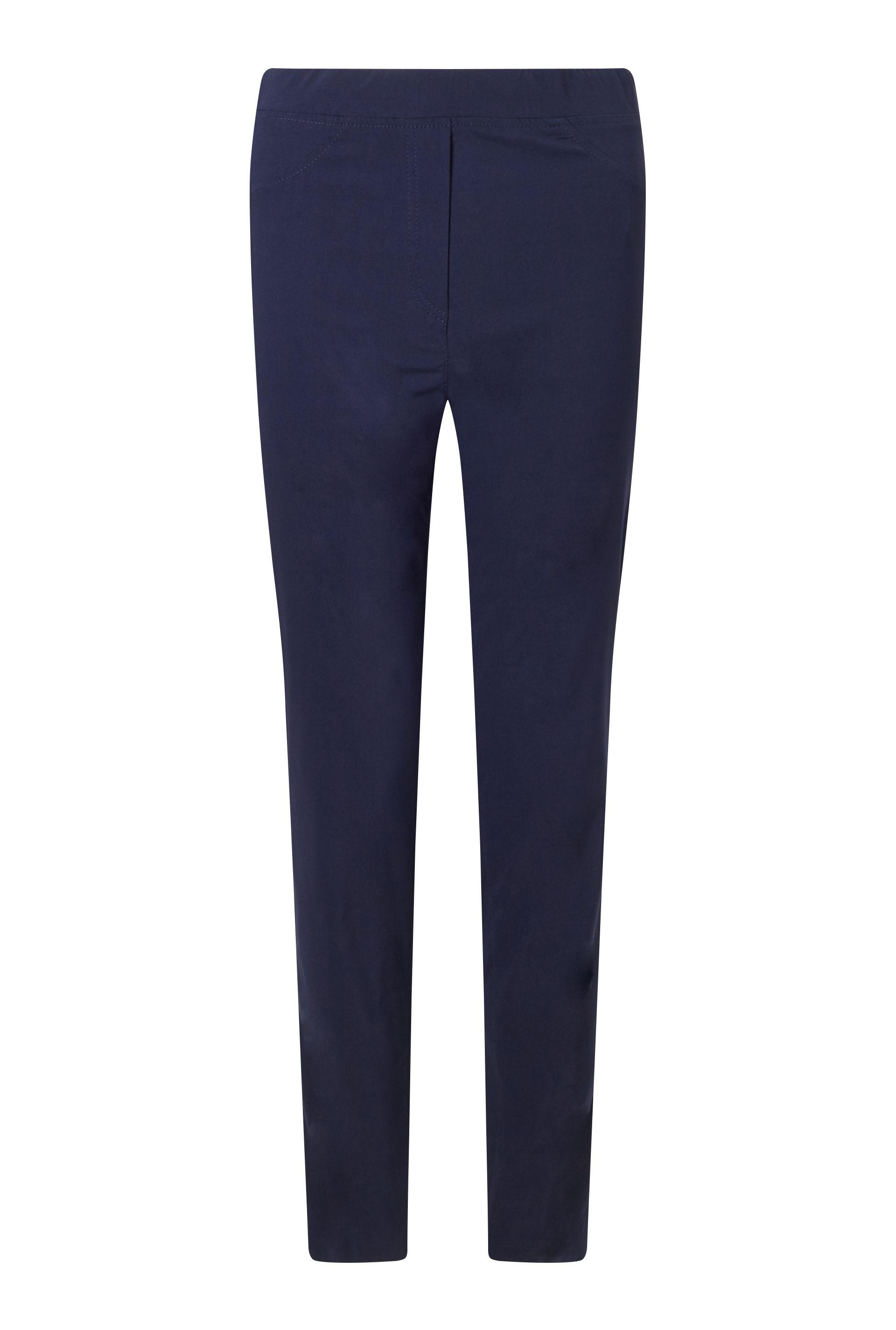 James Lakeland Long Length Bengalina Trouser, Blue