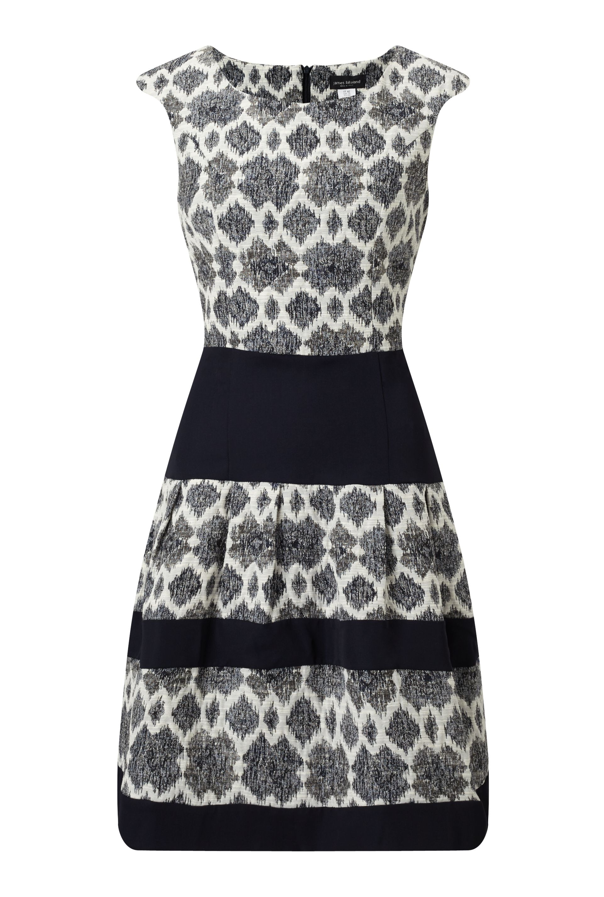 James Lakeland Jacquard Dress, Blue