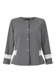 James Lakeland Jacquard Suit Jacket