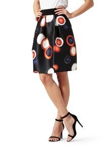 James Lakeland Printed Skater Skirt