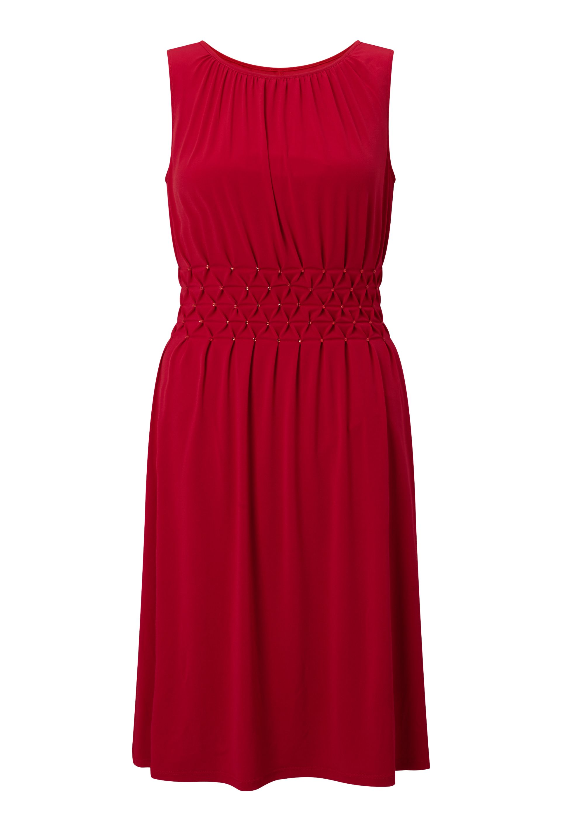 James Lakeland Sleeveless Diamantes Dress, Red