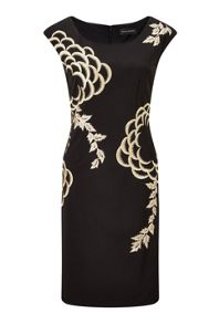 James Lakeland Embroided Detail Dress