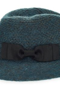 James Lakeland Mohair Fedora With Grosgrain Ribbon Bow