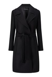 James Lakeland Tie Belt Wool Coat
