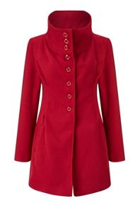 James Lakeland High Collar Coat