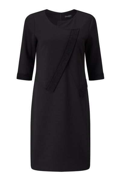 James Lakeland Wool Detail Dress