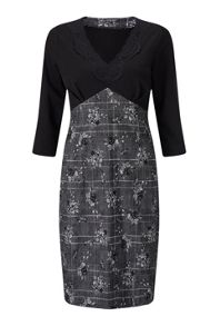 James Lakeland Print Lace Dress