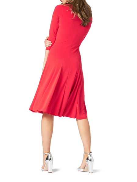 James Lakeland Crepe Mid Length Dress