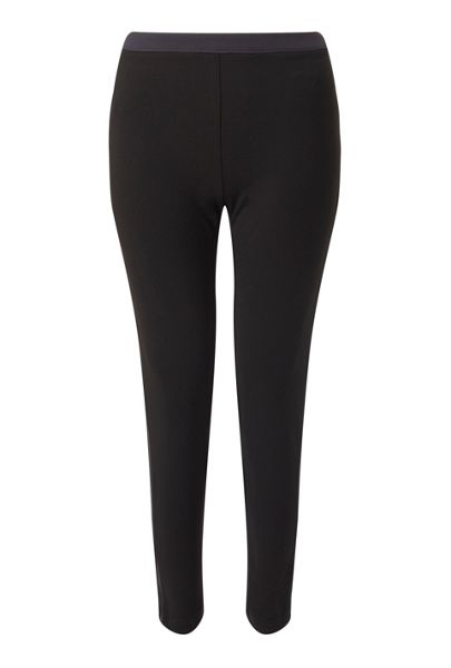 James Lakeland Straight Leg Crepe Trouser