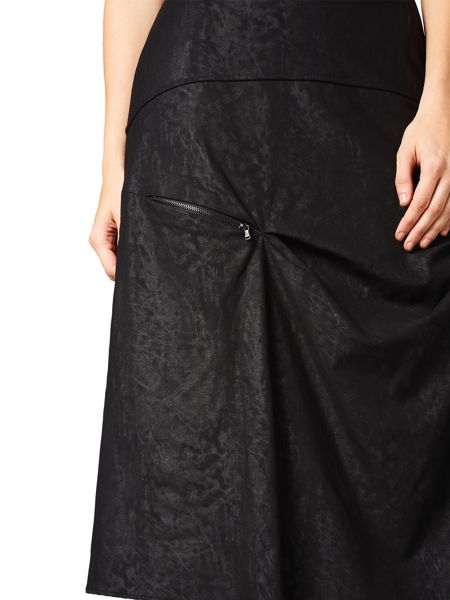 James Lakeland Long Marble Skirt