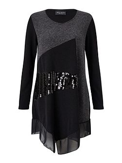 Sequin Embellished Tunic