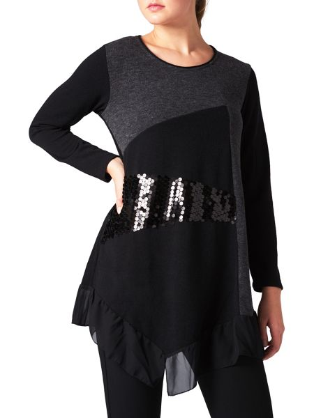 James Lakeland Sequin Embellished Tunic