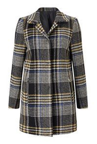 James Lakeland Check Tweed Coat